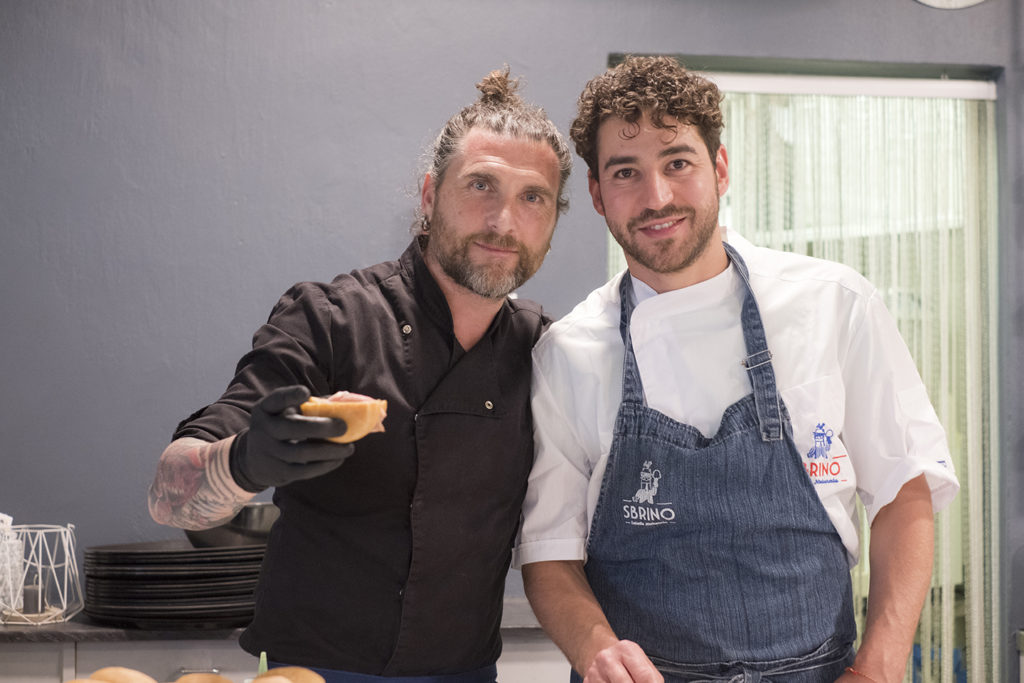 Chef Federico Gualtieri e Mr. Sbrino
