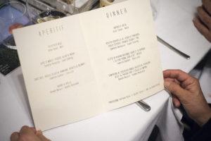 menu cena solidale a 10 mani